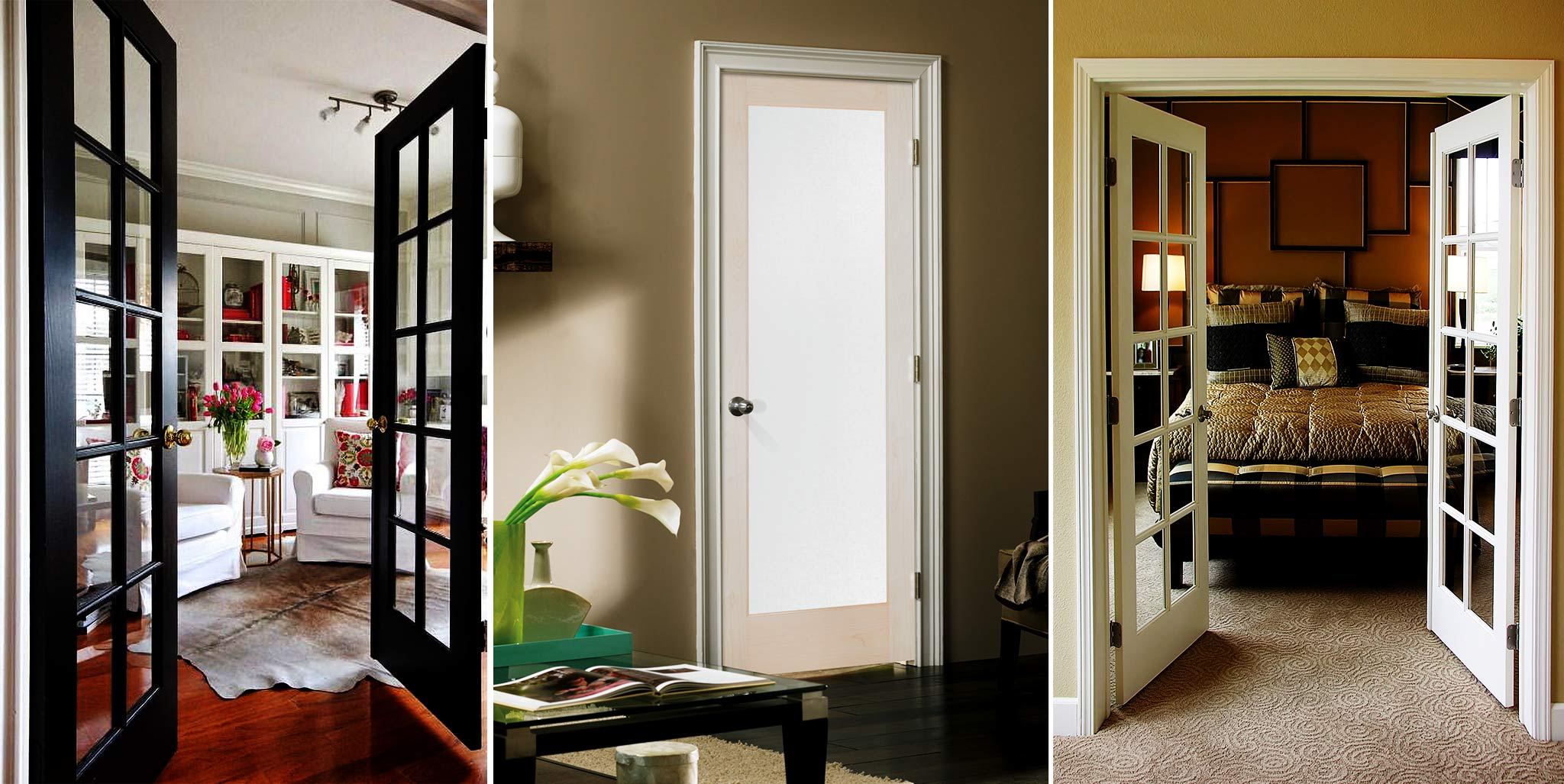 Enjoy the look of new interior doors
