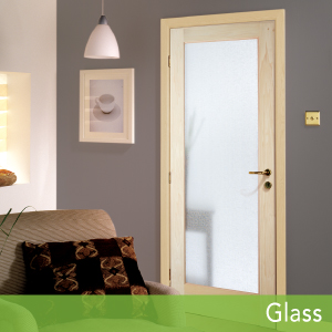 Glass Authentic Wood Doors, HomeStory
