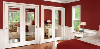 20% off Reflections Mirror Closet Doors