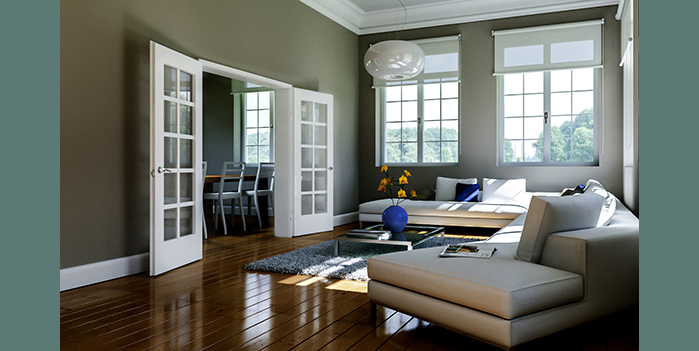 10-Light French Door, HomeStory Doors Chicago